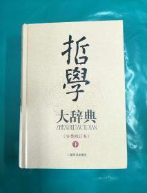 哲学大辞典(全二册)