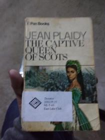 英文原版馆藏 The captive queen of scots --jean plaidy