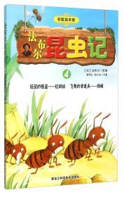 法布尔昆虫记4远征的强盗红蚂蚁飞舞的清道夫绿蝇