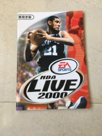 游戏说明书:NBA LIVE 2000 游戏光盘