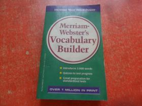 Merriam-Websters Vocabulary Builder麦林韦氏词典扩展(英文版)国内印刷