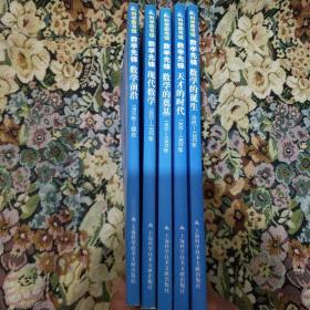 数学先锋:数学的诞生,天才的时代,数学的奠基,现代数学,数学前沿。五册合售   架2(2一20丶