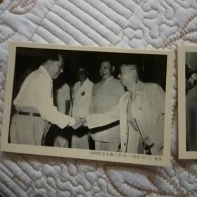 复古老照片  毛主席与艺术家们在一起: