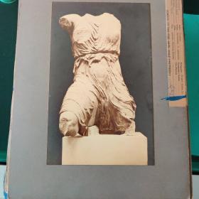耶鲁大学藏古希腊古代雕塑照片