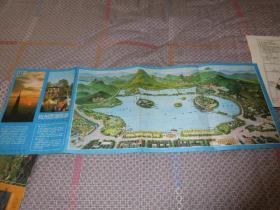 杭州西湖导游图