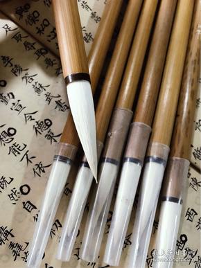 八九十年代文宝牌湖笔厂出品白鹭