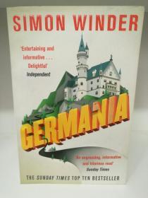 一部有趣的德国史 Germania:A Personal History of Germans Ancient and Modern by Simon Winder (欧洲史)英文原版书