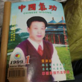 中国气功月刊1999年1一一12册全合售