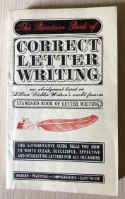 The Bantam Book of Correct Letter Writing 书信的正确写法 0553124196