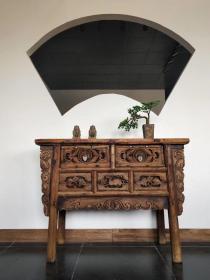 清代晋作老榆木供桌,长110宽43高85,原滋原味,古色古香,牢固结实,原滋原味,非常经典漂亮 运费自理
