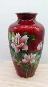 日本七宝烧花瓶一件