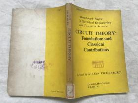 CIRCUIT THEORY:Foundations and Classical Contributions 电路理论:基础和古典的贡献