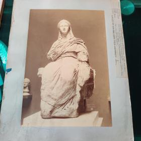 耶鲁大学旧藏古代雕塑照片