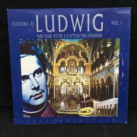 古典音乐黑胶唱片:LUDWIG  MUSIK FÜR LUFTSCHLOSSER 1988年出版 大33转
