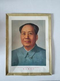1967年 毛主席铁皮画