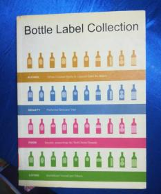 B0ttle Label Collection 世界各地-名酒图录--彩图大16开-