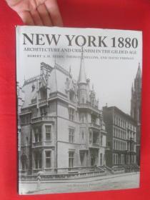 New York 1880: Architecture and Urbanism i...     (大16开,硬精装)   【详见图】