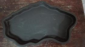 紫砂异形浅水盆一个