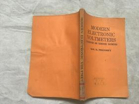 MODERN ELECTRONIC VOLTMETERS 现代电子电压表(英文)
