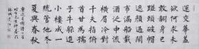 【保真】知名书法家史超楷书力作:鲁迅《自嘲》