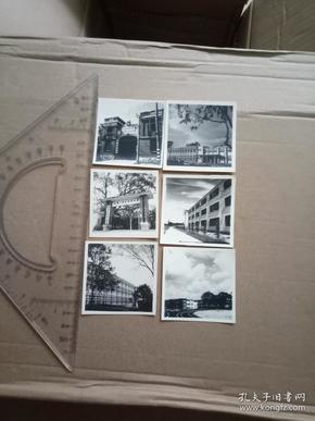 五十年代  华南医学院照片一组6枚
