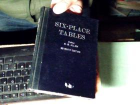 SIX-PLACE TABLES 六位表  1947年版         7G