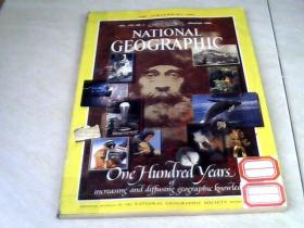 NATIONAL GEOGRAPHIC, JANUARY 1988.1月【16开】