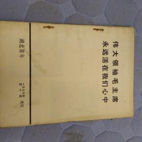 伟大领袖毛主席永远活在我们心中《湖北青年》增刊(一九七六年第十期)