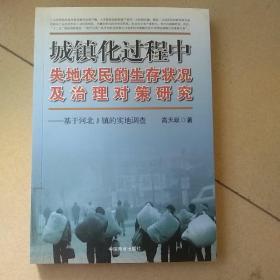 城镇化过程中失地农民的生存状况及治理对策研究