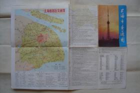 上海市交通图  上海市市区交通图