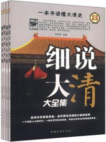 细说大清大全集(全四卷)