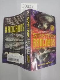 英文原版 平装 32开 】Star Trek The Badlands Book One Susan Wright First Printing