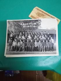 杨春中学初二(一)班 毕业留念1980.5  老照片........
