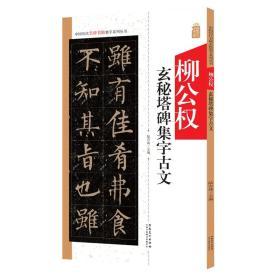 中国历代名碑名帖集字系列丛书:柳公权玄秘塔碑集字古文