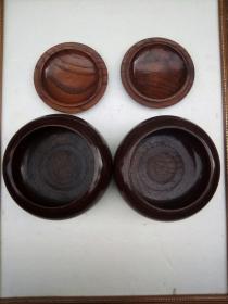 老木围棋盒(木纹美)