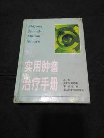 实用肿瘤治疗手册(吴金民、赵昌峻主编)