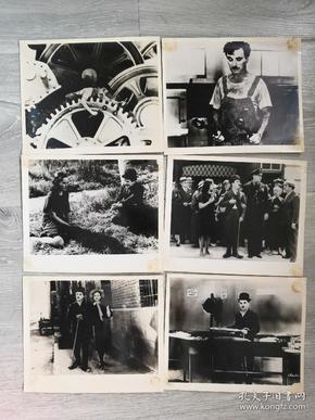 《摩登时代》美国电影剧照包邮挂刷