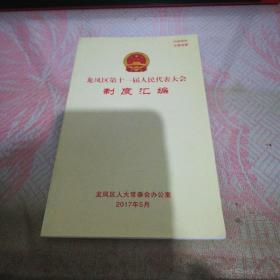 龙凤区第十一届人民代表大会制度汇编