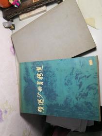 陆俨少册页精选(带原配书套):8开精装布面,1995年一版一印