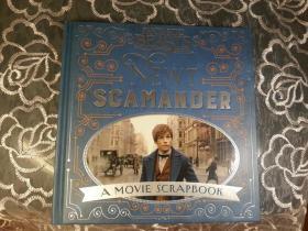 神奇的动物在哪里 纽曼斯卡曼德 剪贴簿 英版Newt Scamander : A Movie Scrapbook