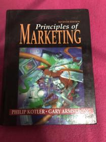 英文原版进口 科特勒 市场营销原理第七版(全彩版) ,Philp Kotier,Principles of Marketing 7ed 1996