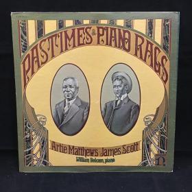 古典音乐黑胶唱片:(马修斯专辑)Artie Matthews PASTIMES&PIAND RAGS 七八十年出版 大33转
