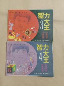 智力大王(第三、四册)两册合售