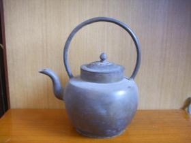 民国 铜酒壶(全品)