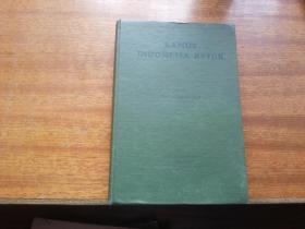 1954年原版书籍【kamus  indoresia ketjik】32开精装本413页《印尼词典》书影如一(内5箱左侧)