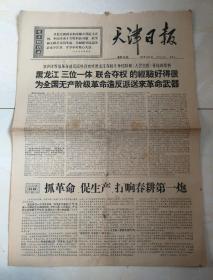 天津日报:1967.2.11,九品五!!
