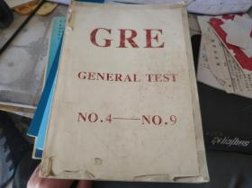GRE GENERAL TEST NO.4—NO.9