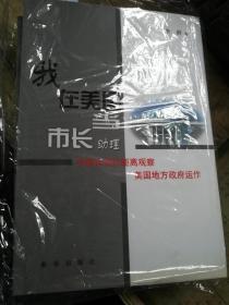 我在美国当市长助理 中国官员近距离观察美国地方政府运作  李群 著  新华出版社   实拍现货 有大量库存   书店原包