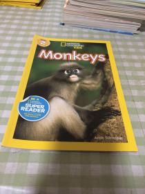 National Geographic Readers #2: Monkeys