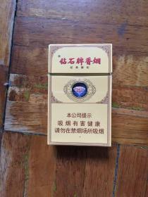 烟盒烟标   钻石牌香烟